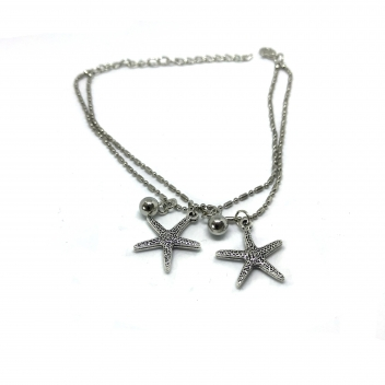 Anklet stars and balls