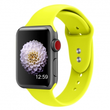 Iwatch strap 38mm Yellow