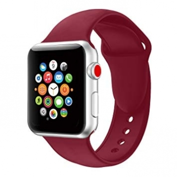 38mm iwatch strap garnet