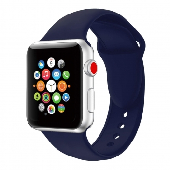Iwatch strap 38mm navy blue